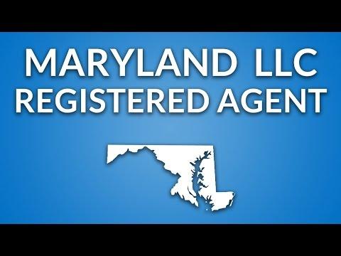 Maryland LLC - Registered Agent