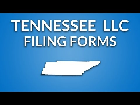 Tennessee LLC - Formation Documents