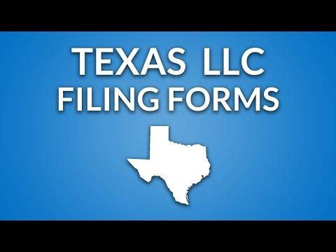 Texas LLC - Formation Documents