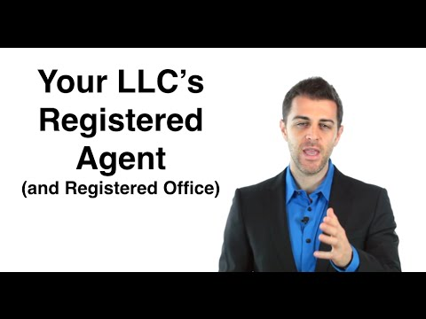 LLC Registered Agent: Form an LLC (6/11)