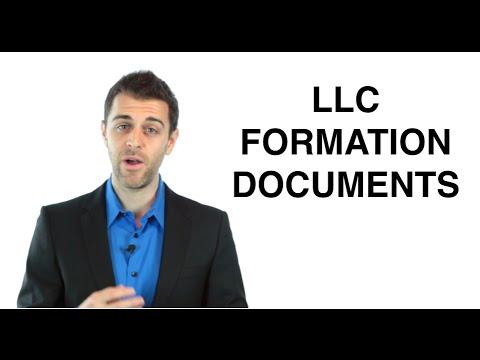 LLC Formation Documents: Form an LLC (7/11)