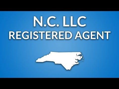 North Carolina LLC - Registered Agent