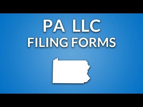 Pennsylvania LLC - Certificate of Organization