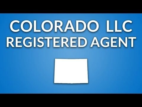 Colorado LLC - Registered Agent