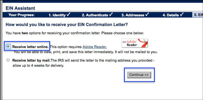 Apply for EIN LLC Online Online or Mail