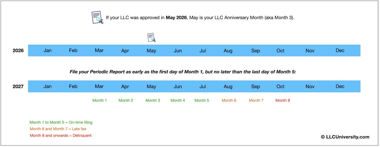 Colorado LLC Periodic Report example 1