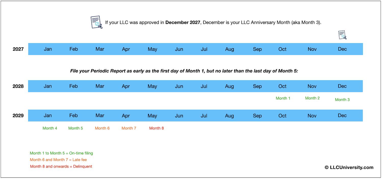 Colorado LLC Periodic Report example 3