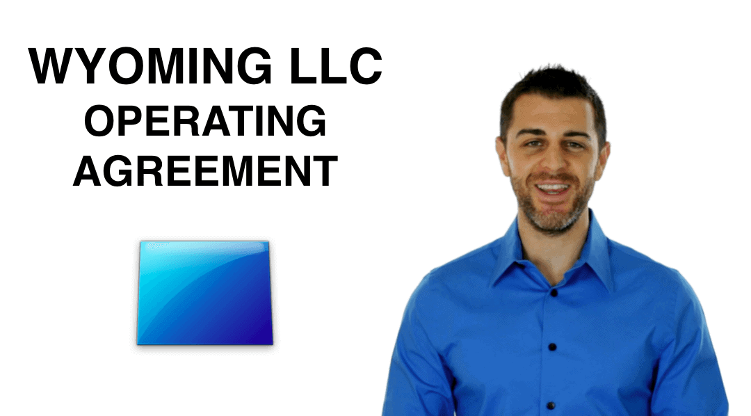 Wyoming Llc Operating Agreement Download Instructions