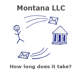 How long does it take to get an LLC in Montana