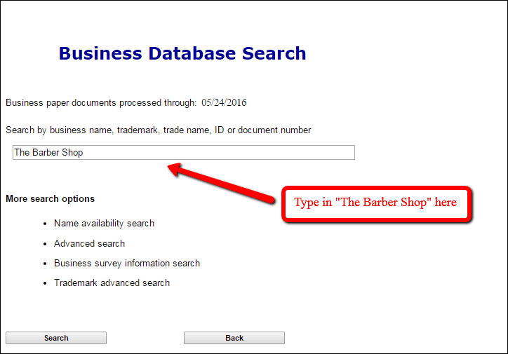 colorado llc search business search page