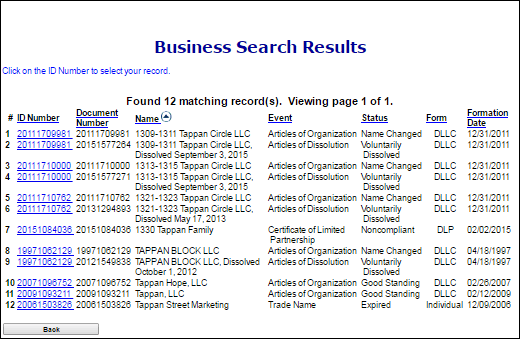 colorado llc search business search results
