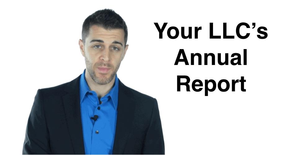 Understanding The Llc Annual Report Requirement Llc University